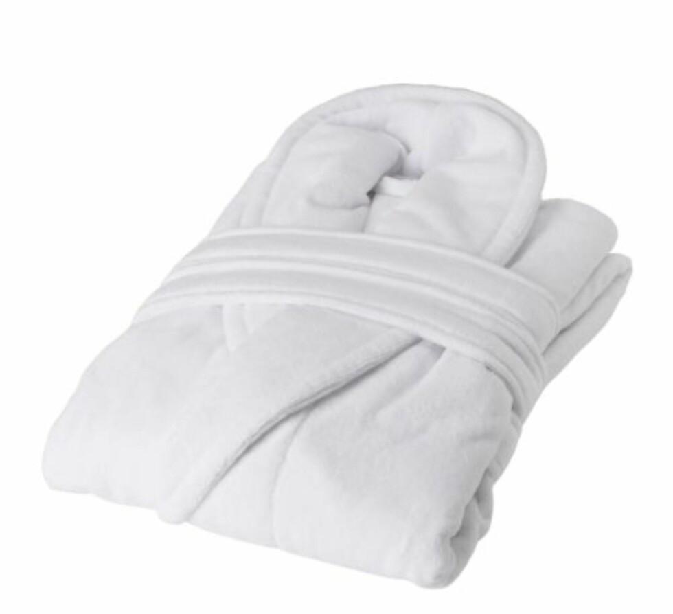 Njuta badekåpe til 298 kroner (198 for medlemmer) Foto: Ikea