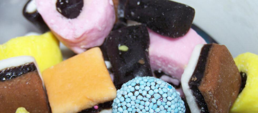 I en dansk undersøkelse kommer det fram at noen velger å spise lakris til frokost.  Foto: Flickr.com