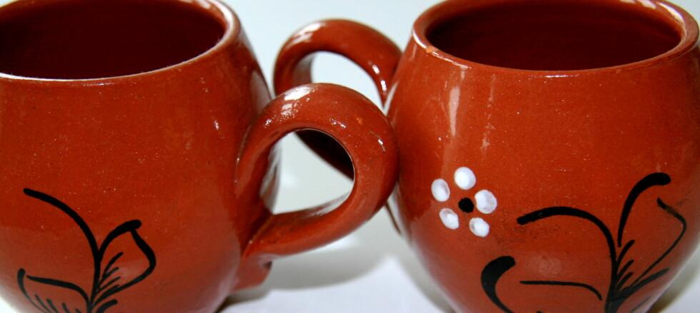 Enkelte typer keramikk kan avgi helseskadelige mengder tungmetaller. Foto: Karoline Steenbuch