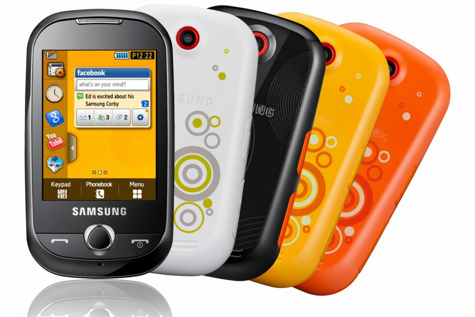 Samsung lanserer Corby