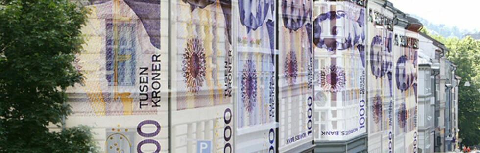 Var du bekymret for boligverdien din? Nå er den tilbake på topp. Foto: Per Ervland