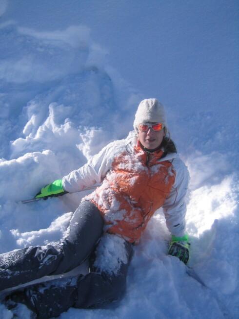 Hvis det er slik skiturene dine ender bør du kanskje melde deg på et av kursene som arrangeres? Foto: Ana Fernandez
