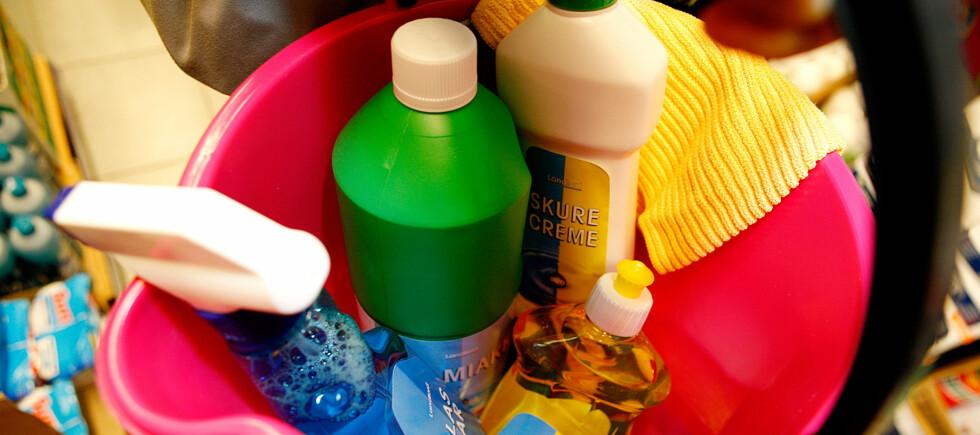 Fire prosent av amerikanere sier i en undersøkelse at de lar det gå mange måneder mellom hver gang de vasker doen. Foto: PER ERVLAND