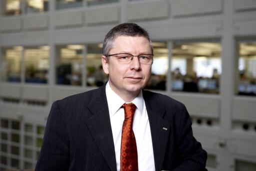 - Oljen avgjør Det er oljeprisen som påvirkr kronen sterkest, mener Nordeas sjeføkonom Erik Bruce. Foto: Nordea