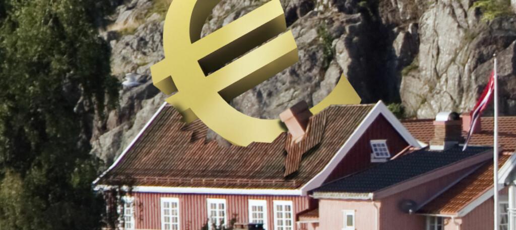 <b>Kan gå helt galt: </B> Eurolån knekket boliglånskundene på Island, nå kan det knekke deg. Foto: Per Ervland