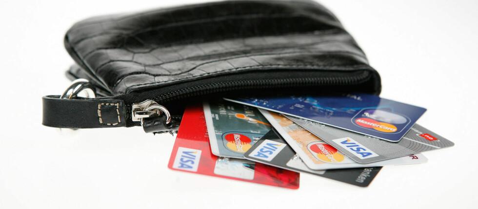 Foreløpig er du ekstra beskyttet om du handler med kredittkort. Foto: Per Ervland