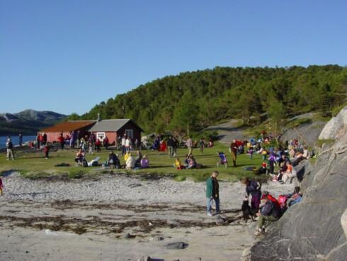 Gjælentunet er en svært familievennlig nedlagt gårdstun. Foto: Turistforeningen