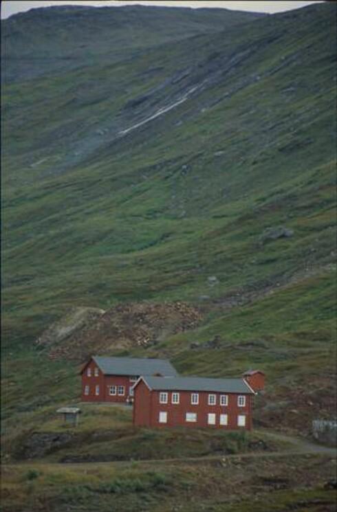Ny-Sulitjelma ligger i Sulitjelmafjellene. Foto: Turistforeningen