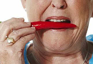 Tåler du sterk mat?