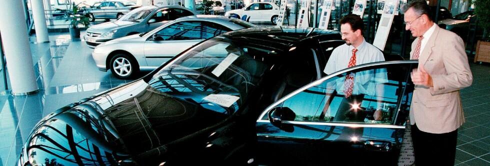 Vi håper du virkelig har bruk for den  I motsatt fall blir det mye å betale for lakk og krom i garasjen. Foto: colourbox.com