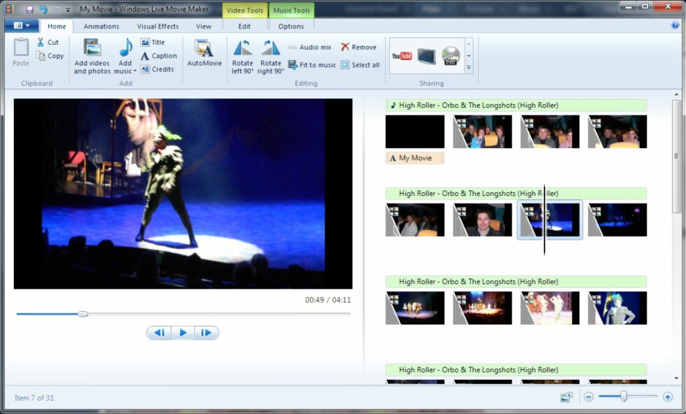 Windows Live Movie Maker 14