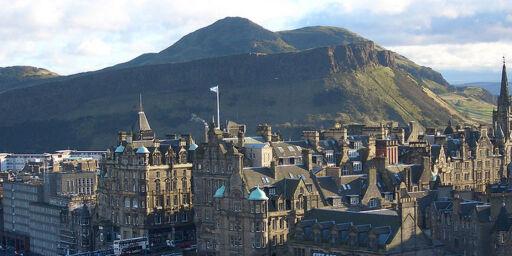 image: Ny rute fra Torp til Edinburgh