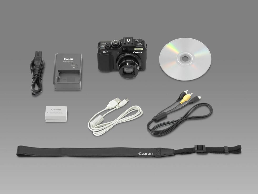 Canon Powershot G11 esken