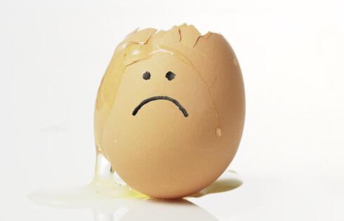 Det er ikke nødvendig å kaste egg bare fordi de har gått ut på dato. Foto: coloubox.com