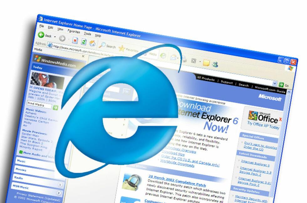 Derfor lever Internet Explorer 6 i beste velgående