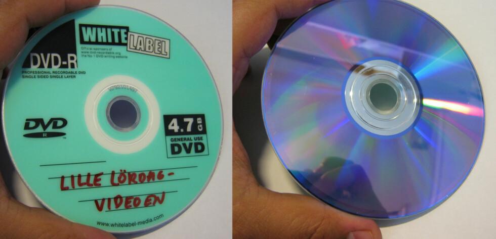 DVD-plate