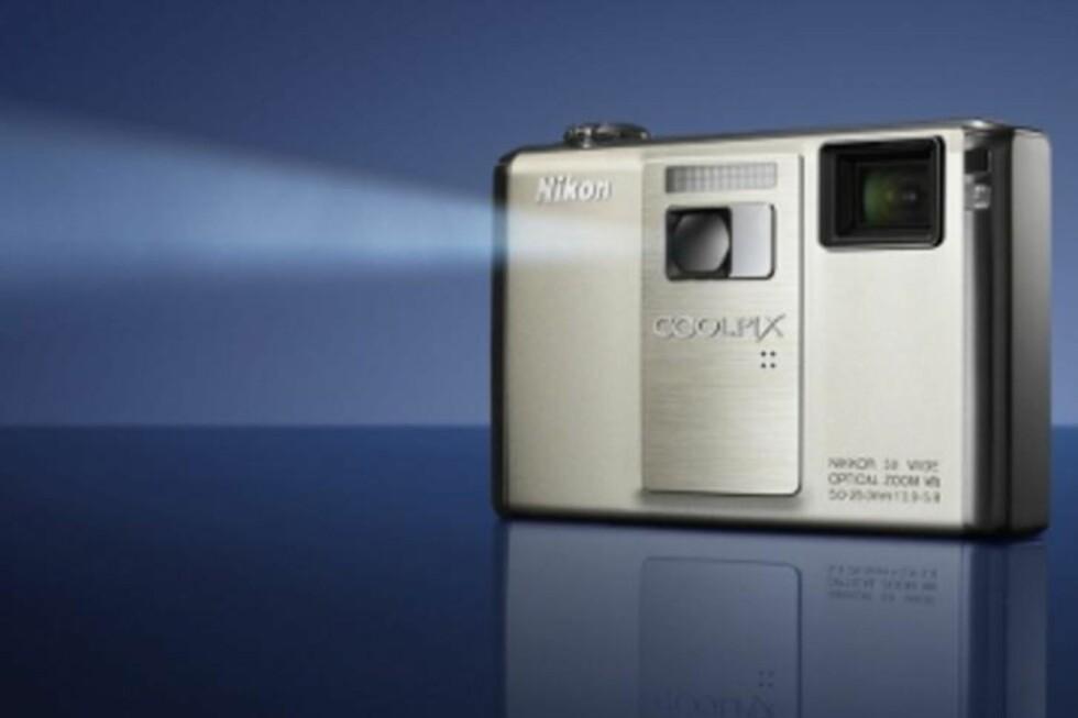 Kamera med innebygd projektor!
