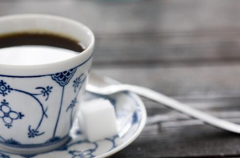 Ta en kopp kaffe før du drar på trening.