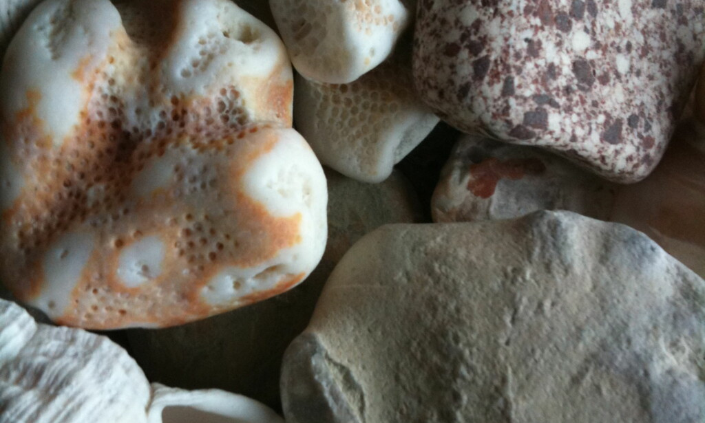 Nærbilde av steiner