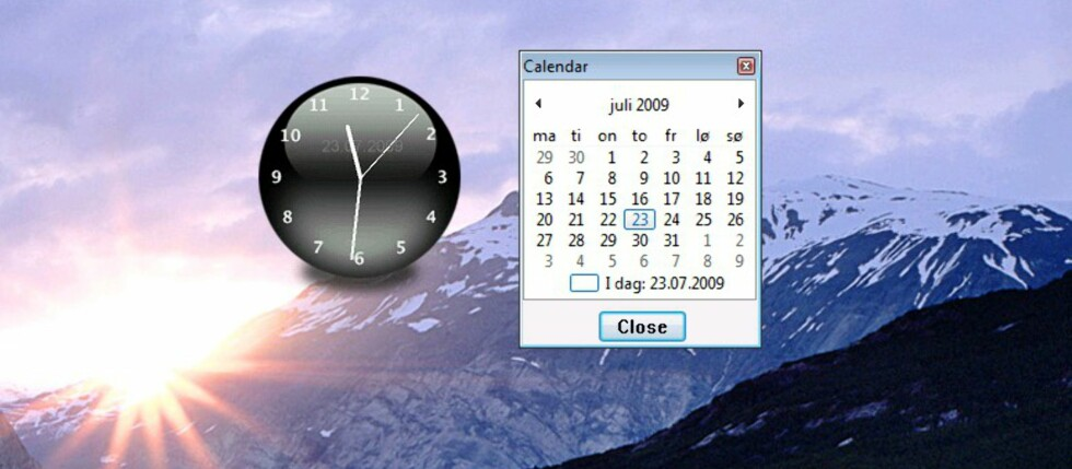 ClocX - smart skrivebordsur