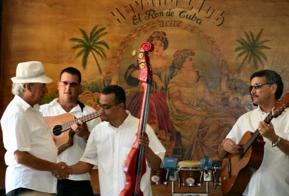 Fra den kjente Havana Club. Foto: Tove Andersson