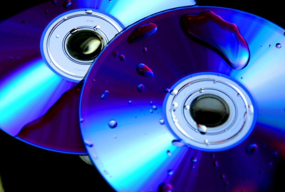 DVD-plater tåler riktignok vann, men tidens tann degraderer kvaliteten.