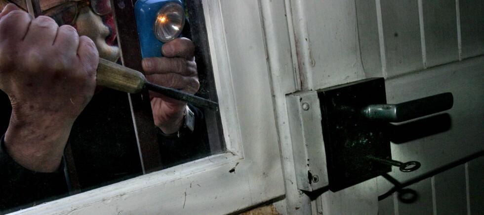 Alarmen som går når noen kommer inn et sted der ingen har gått ut etter at alarmen ble skrudd på... Foto: colourbox.com