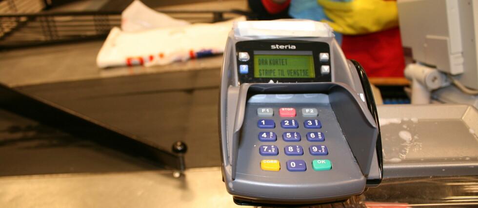 Flere betalingsterminaler har blitt stjålet den siste tiden. Foto: Kristina Picard