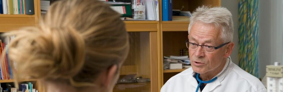 Har du noen dårlige uvaner som legen din irriterer seg over? Foto: colourbox.com
