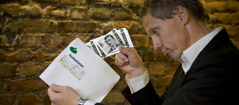 I alt 460 000 nordmenn får en restskatt på totalt 5,9 milliarder kroner. Foto: Per Ervland