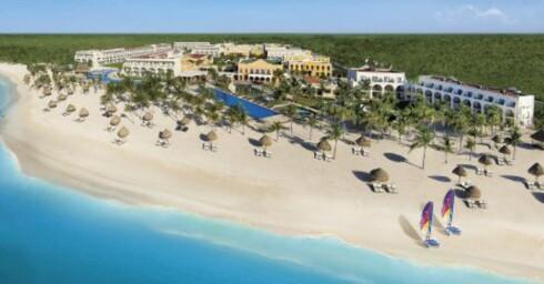 To ukers vinterferie på Dreams Tulum Resort & Spa i det karibiske mexico koster fra 21.500 kr per person. Foto: Apollo