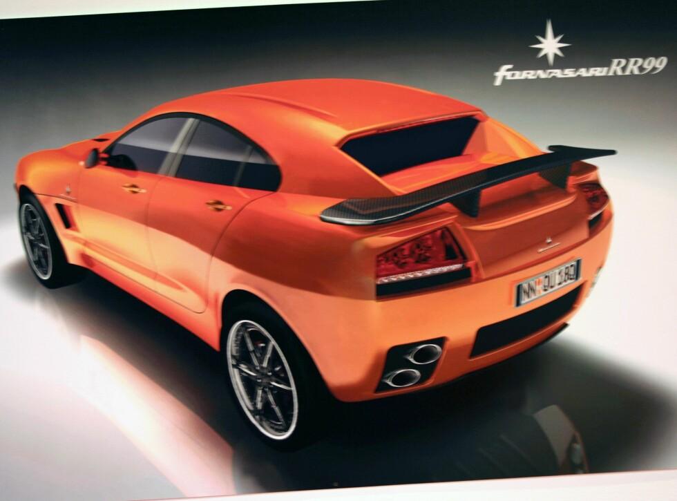 Brosjyrebilde av merkets nyeste produksjonsmodell - RR99.