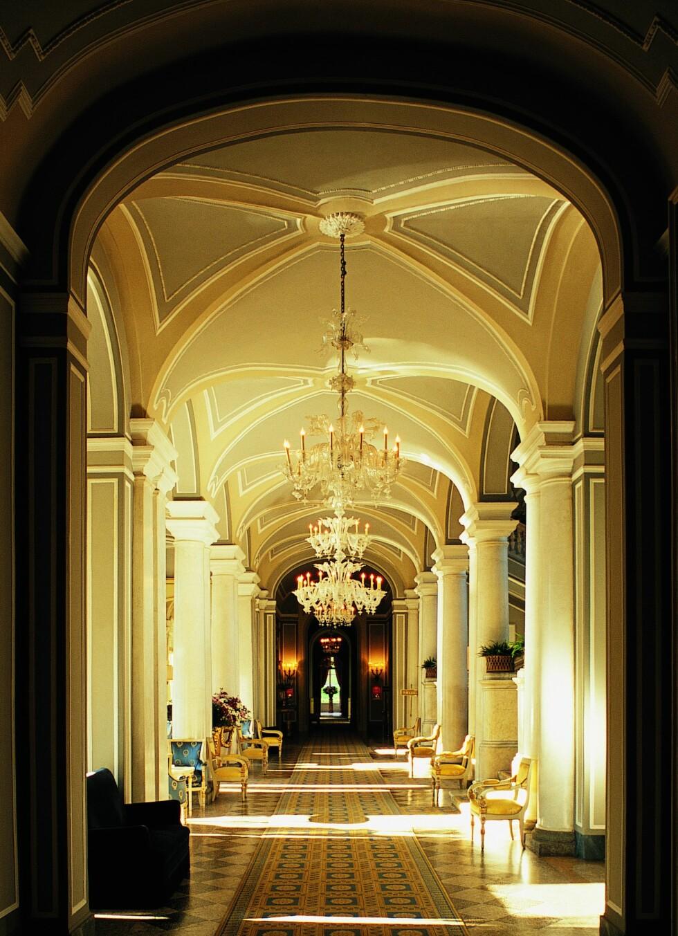 Fra lobbyen. Foto: Villa d'Este
