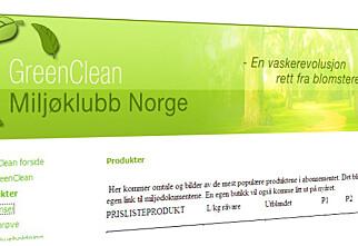 GreenClean må rydde opp