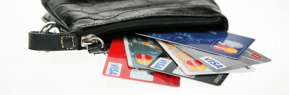 Hvilke kort bør du ha i lommeboka? Foto: Per Ervland
