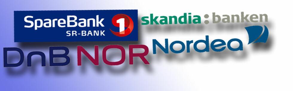 Av disse bankene er det foreløpig bare Skandiabanken som har satt ned renten etter dagens rentemøte i Norges Bank.