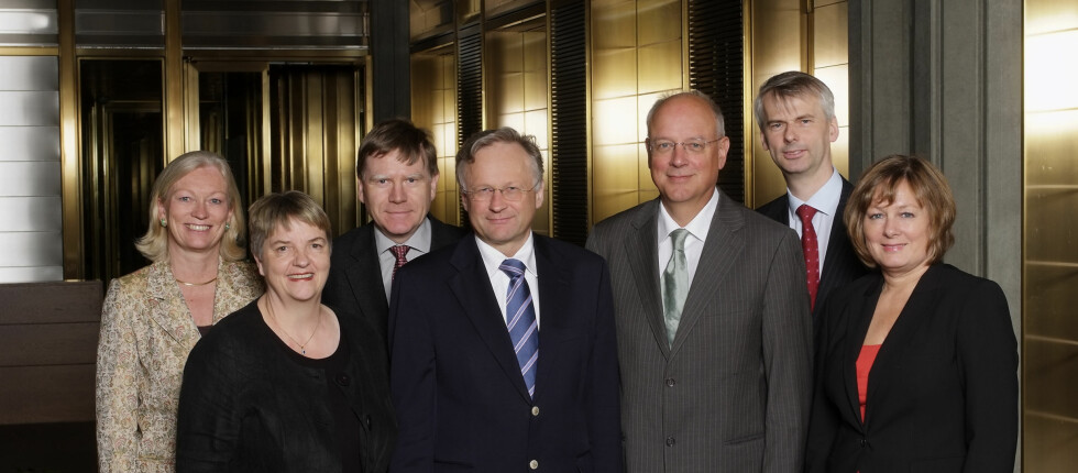 Norges Banks hovestyre kutter nok en gang i styringsrenta. Foto: Sturlason