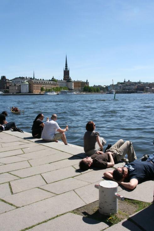 Stockholm, byen ved vannet, er en super sommerby. Foto: Stine Okkelmo