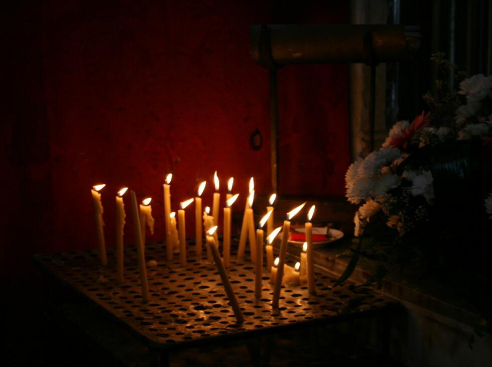 Religion er en viktig del av montenegrineres liv. Foto: Stine Okkelmo
