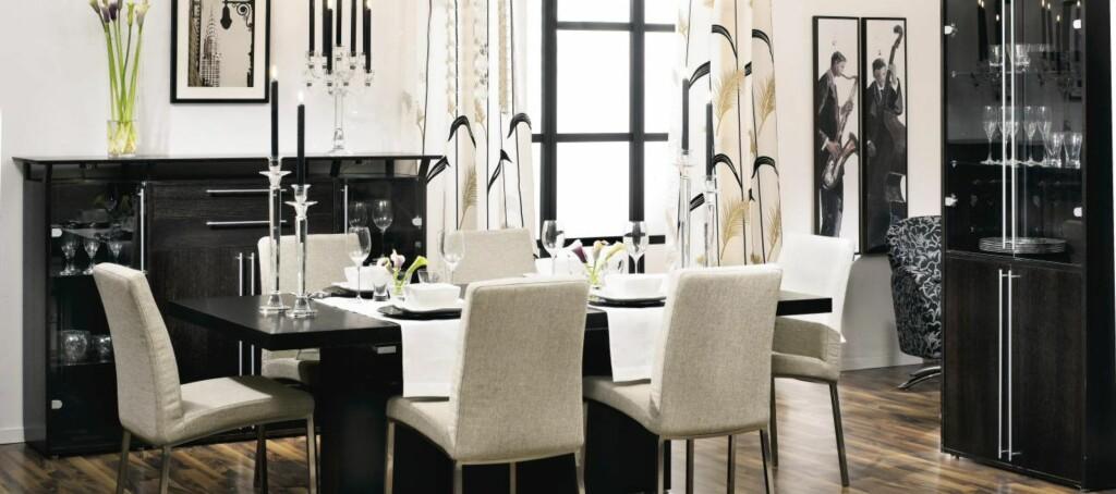 Hvordan du innreder kommer an på rommet, huset og stilen din. Her en moderne og maskulin innredning fra Bohus. Foto: Bohus