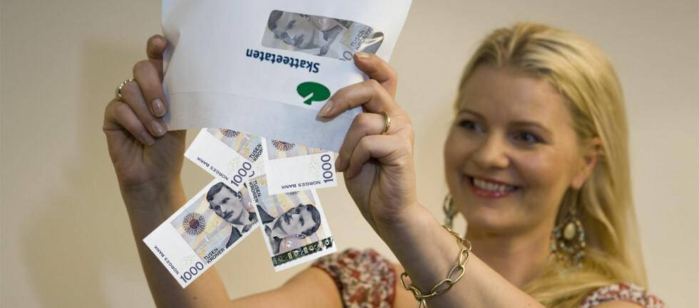 Skatteoppgjøret kan la vente på seg, og det skaper problemer for en del husholdninger. Foto: Per Ervland