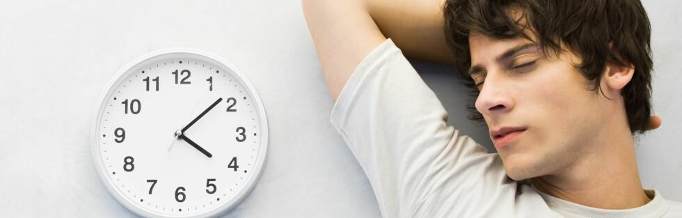 KOMPLISERT: Nye funn tyder på at forholdet mellom søvn og trening kan være mer komplisert enn antatt. Foto: Colourbox.com