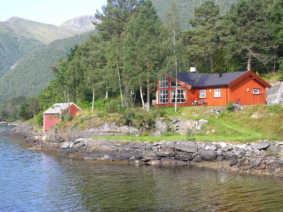 Smøla fra Rindalshytter: Bestselger blant sjøhyttene. Foto: Produsenten