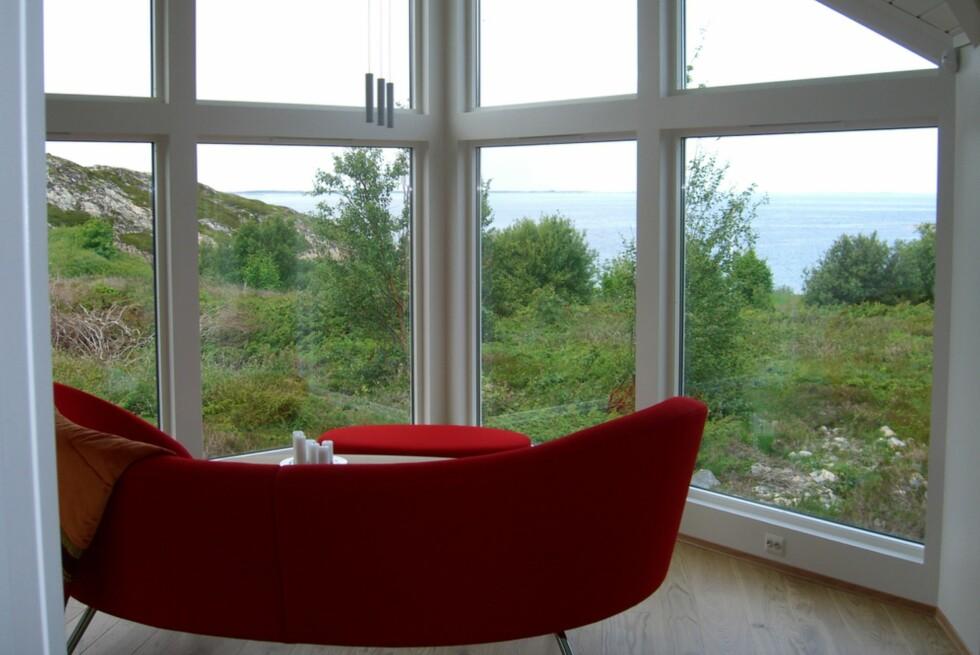 Utsikt fra bestselgeren til Nordbohus: Corner.  Foto: Produsenten