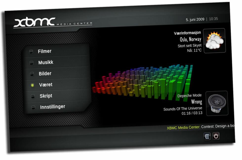 XBMC - gratis mediesenter