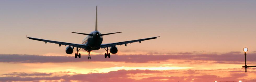 Kjenner du deg urolig for å fly? Vi har sjekket ulykkesstatistikken. Foto: Sxc
