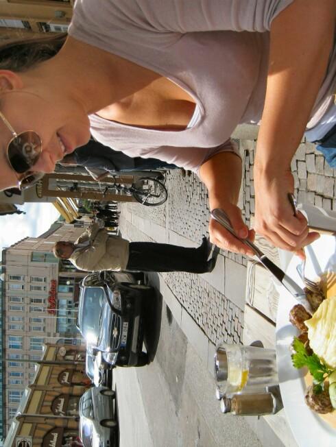 Å gå ut og spise skal være en hyggelig opplevelse. Er det ikke det, dropper du tipsen. Foto: Stine Okkelmo