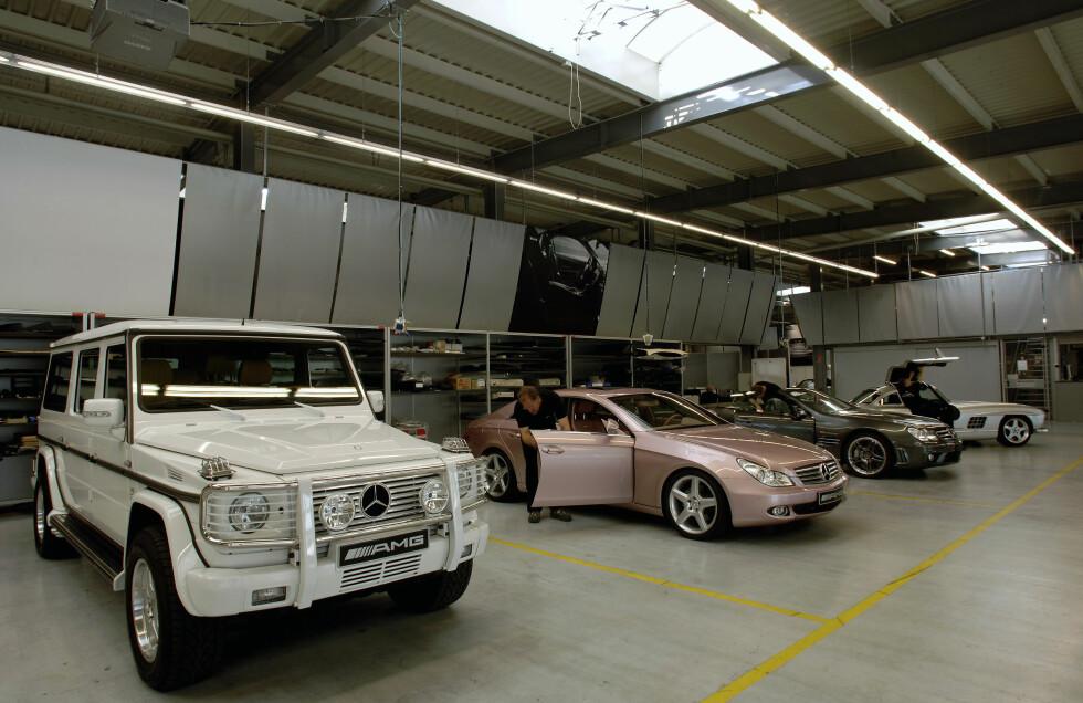 Spesialmodeller i AMG Performance Studio