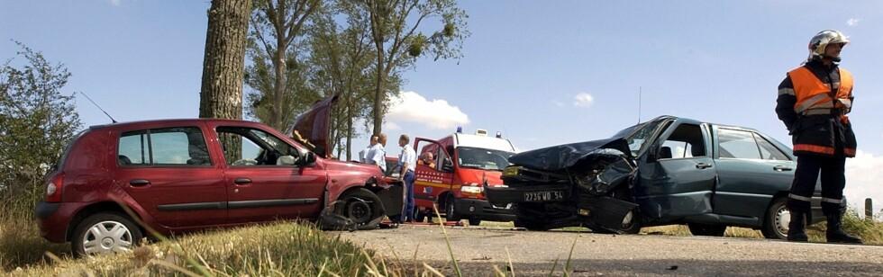 I noen land er sjansen større for å havne i en ulykke enn i andre. Foto: Colourbox