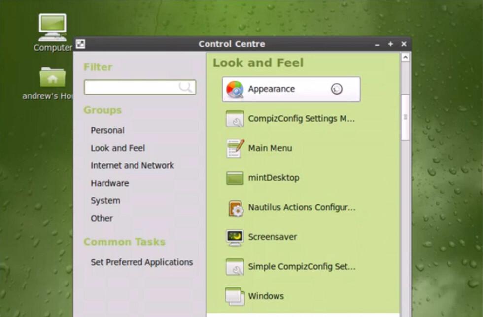 Linux Mint 7.0 Gloria er klar